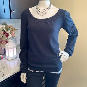 FRENCH CONNECTION SWEATER TOP SZ M